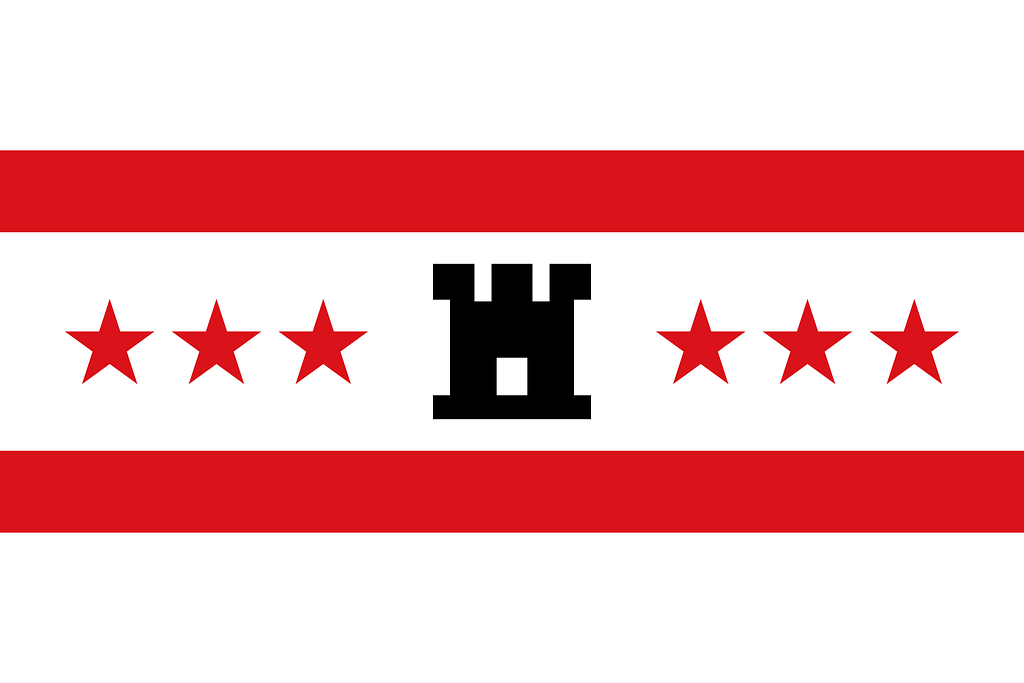 provincievlag op stoeptegel printen